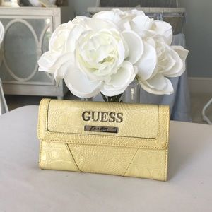 Guess Yellow Wallet